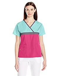 WONDERWINK Women's Origins Tri-Charlie Scrub Top