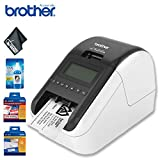Brother QL-820NWB Professional Ultra Flexible Label Printer Standard Bundle