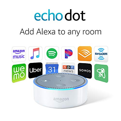 Echo Dot (2nd Generation) - Smart speaker with Alexa - White