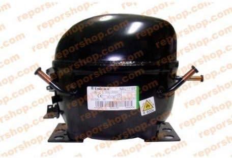 REPORSHOP - COMPRESOR EMBRACO NBU1116Y R600 LBP 1212CC Baja ...