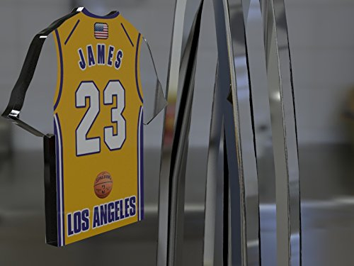 2403c5927e8 NBA BASKETBALL JERSEY SHAPED MAGNETS - You choose the name, number and team  colours - FREE PERSONALISATION!!! (Los Angeles Lakers NBA Magnet). by  fanplastic