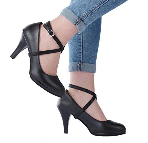 Detachable Shoe Straps Shoes Slipping Cityelf Hold Loose High Heels Wedges Pump Sandles(BM) ()