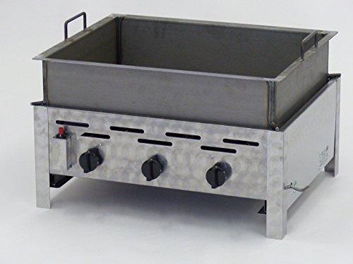 Edelstahl Grillpfanne Für Gasgrill : Edelstahl gasgrill gastrobräter mit 150iger pfanne hergestellt in