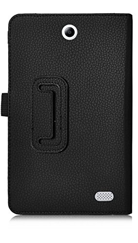 Acer Iconia One 8 B1-850 case, KuGi ® Acer Iconia One 8 B1-850-Multi-Angle Stand Slim-Book PU Leather Cover Case only fit for for Acer Iconia One 8 B1-850 tablet (Black)