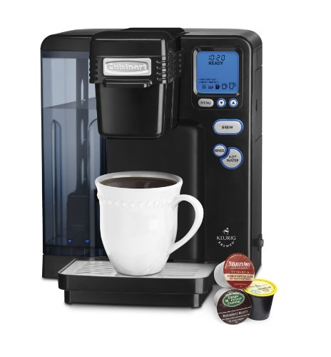 Cuisinart SS-700BK Single Serve Brewing System, Black - Powered by Keurig DISCONTINUED