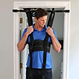 Sit and Decompress - The Ultimate Back Stretcher/Lumbar Traction - 3 Minutes a Day. Increase Your disc Space by 20% Instantly While in use. Version 4 (Small Harness Only Purchase)