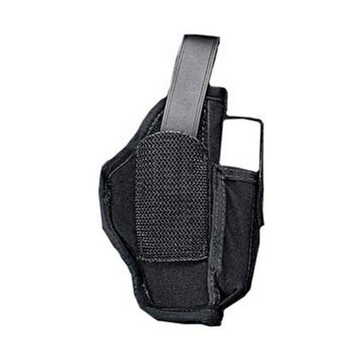 (Uncle Mike's Kodra Nylon Ambidextrous Sidekick Hip Holster with Cartridge Loop (Size 45,)
