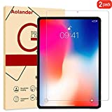 Aolander Tempered Glass Compatible Apple iPad Pro Screen Protector,Ultra-Clear High Definition Premium Film for New iPad Pro (2-Pack)
