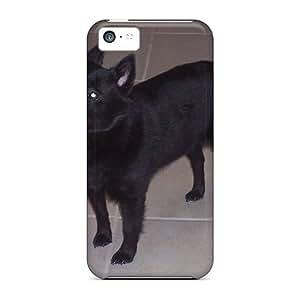 Iphone 5c XQbXAow7606LXSnj Schipperke Tpu Silicone Gel Case Cover. Fits Iphone 5c