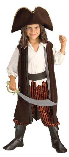 Little Boys' Caribbean Pirate Yarn Baby Costume