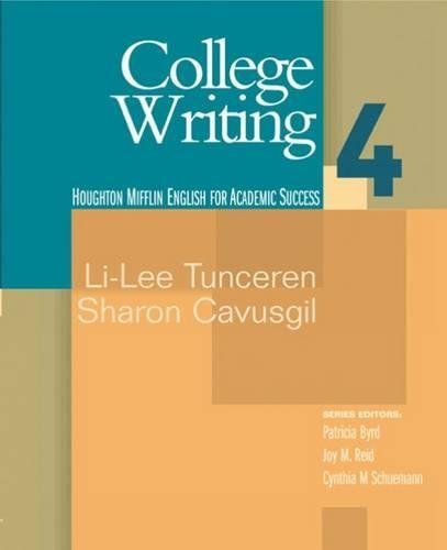 College Writing 4: English for Academic Success (Bk. 4)