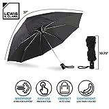Lewis N. Clark Travel Umbrella: Windproof & Water