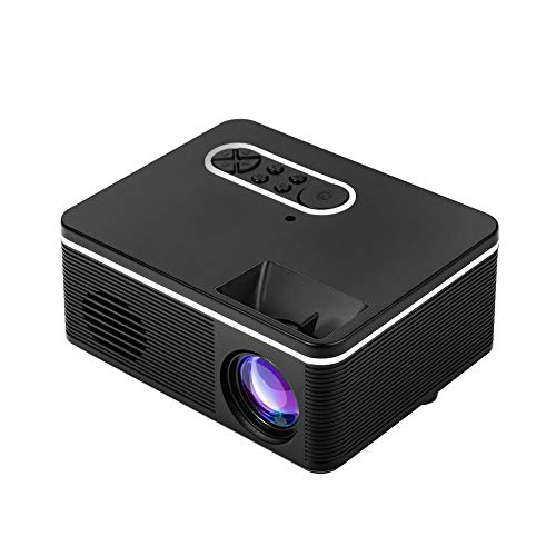 Proyector LED Full HD 1080P Soporte HDMI VGA AV USB Mini proyector ...