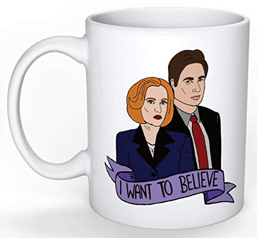 The X Files Mug (Dana Scully, Fox Mulder, The Truth is Out There, UFO,  Alien, SciFi, Buffy, Roswell, Charmed, SCI FI, Blair Witch)