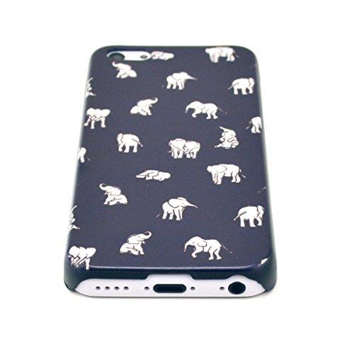 JIAXIUFEN little Elephant Coque Case Etui Coque étui de protection Coque Case Cas Pour iPhone 5C