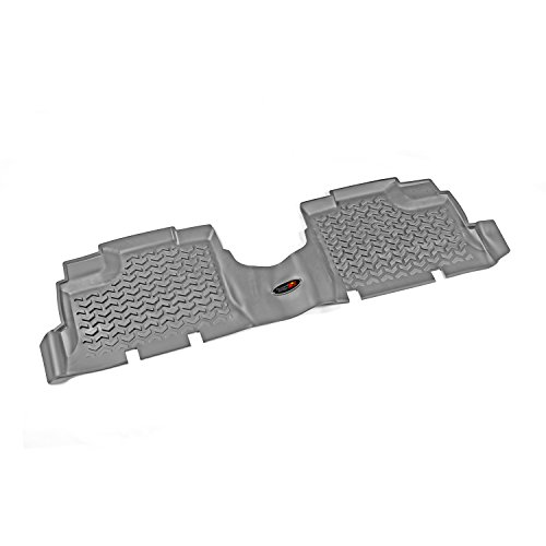 Rugged Ridge All-Terrain 14950.01 Grey Second Row Floor Liner For Select Jeep Wrangler Unlimited Models