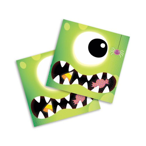 Boo Crew Halloween Beverage Napkins (16 count) Party Accessory