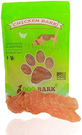 Dog Bark Naturals Jerky Dog Treats – Made in The USA – 1 Ingredient, Beef, Chicken, Bacon, Kangaroo All Natural Dog and Puppy Treats