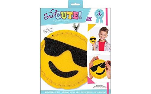 Colorbok Felt Sewing Kit Emoji ()