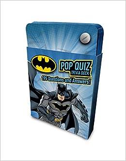 b15458b574 Amazon.com  DC Comics  Batman Pop Quiz Trivia Deck (9781683837343)  Insight  Editions