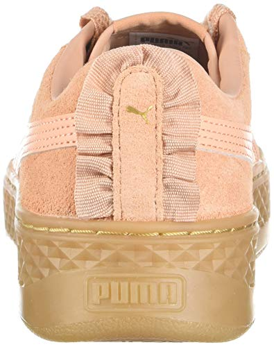 Plateau Pumapuma Smash dusty Coral Coral Gold Donna puma Dusty Team Platform 366487 qFtcn6F7