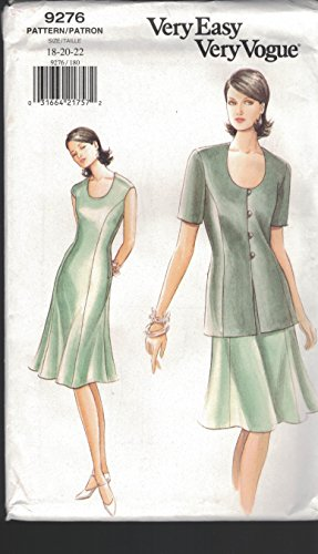 Uncut Vintage Vogue Pattern Dress - 5