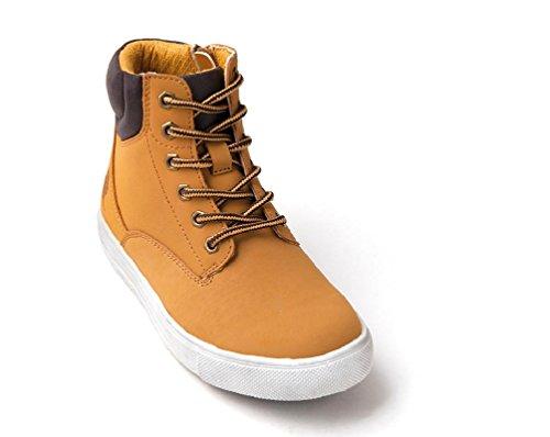 CANGURO - Zapatillas para niño amarillo ocre
