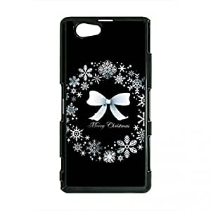 Merry Christmas Phone Case Happy New Year Phone Case Sony Xperia Z2 Cover Customized Cellphone Cover Case 076