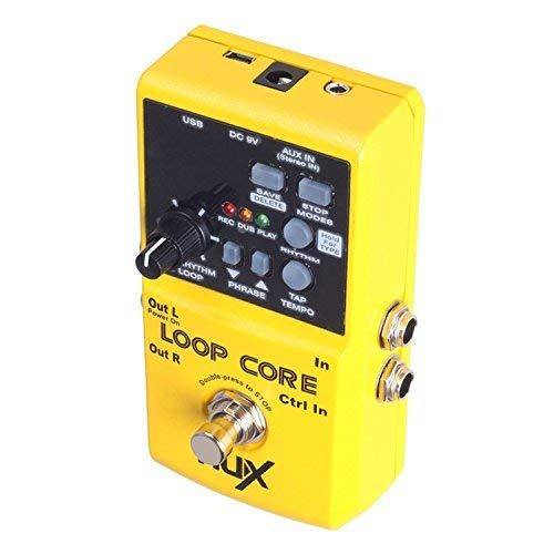 NUX Loop Core,Guitarra Efecto Pedal, Looper, 6 Horas Tiempo de ...