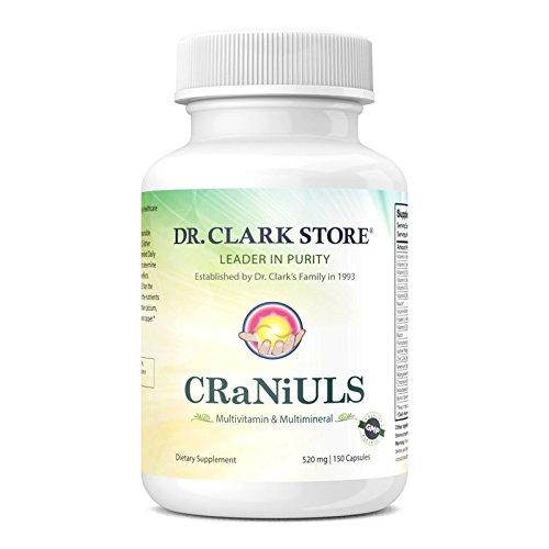 CRaNiULS Multi Vitamin Mineral , 520 mg 150 Capsules