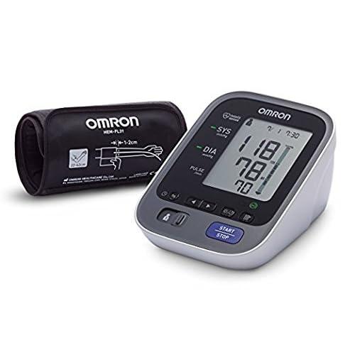 OMRON M7 Intelli IT Tensiómetro de brazo Bluetooth aplicación OMRON Connect para móviles tecnología Intelli Wrap Cuff