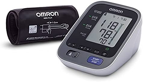 OMRON M7 Blood Pressure Monitor with Bluetooth and Intelli Wrap Cuff: Amazon.co.uk: Health & Personal Care