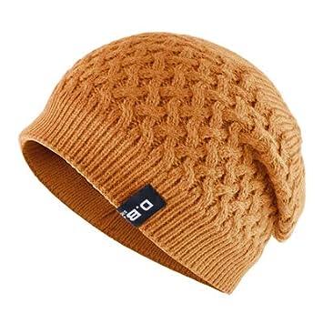 HOKUGA Warm Men Beanie Caps teenager Winter Hats For Man Knitted Beanies Hat Mesh Gorra Bonnet