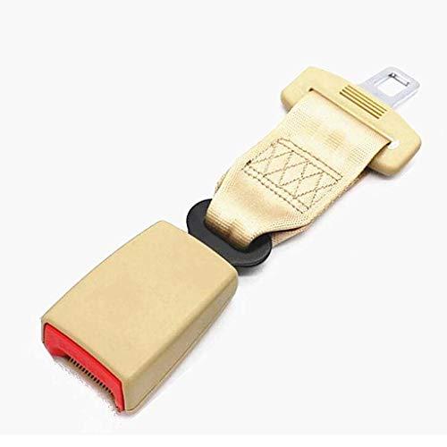 GLJJQMY Cinturón De Seguridad/Extensor para Mujeres Embarazadas Y Niños (Negro, Beige) El cinturón de Seguridad se...