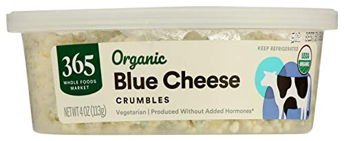 365 through Whole Foods Market, Organic cheese Crumbles, Blue Cheese 4 Ounce