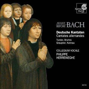 German Cantatas Before Bach / Herreweghe, Collegium Vocale by Harmonia Mundi France
