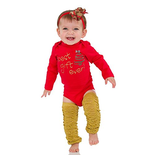 juDanzy Halloween & Christmas Baby Gift Box outfit set (3-6 Months, Best Gift Ever)