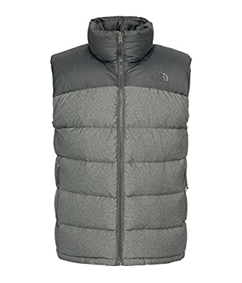 THE NORTH FACE Mens Nuptse 2 Gilet Body Warmer XL Grey Black RRP £129.95   Amazon.co.uk  Clothing df7be2fc0