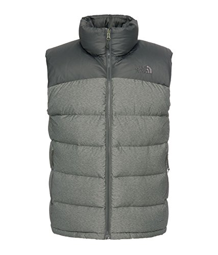 THE NORTH FACE Mens Nuptse 2 Gilet Body Warmer XL Grey Black RRP £129.95   Amazon.co.uk  Clothing 119535471