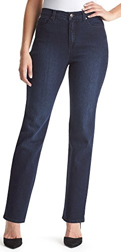Stud Pocket Jean - Gloria Vanderbilt Women's Amanda Classic Tapered Jean, Portland Wash, 6 Long