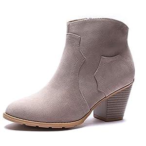GUCHENG Women's Ankle Boots