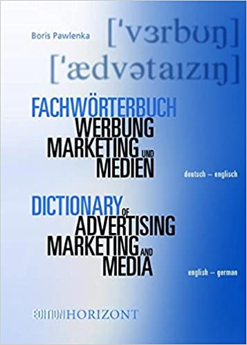 Fachwörterbuch Werbung, Marketing und Medien 2 Bände: Deutsch ...