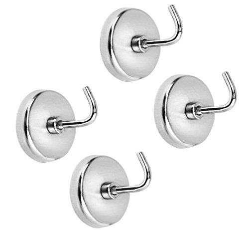 ALAZCO 4pc Extra Strong Magnetic Hook