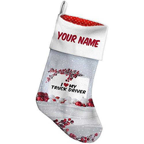 Driver Christmas Stocking - 4