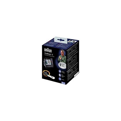 Mch-Tensiómetro electrónico de puño BRAUN BPW4300E inflamación BRA011 silencioso: Amazon.es: Salud y cuidado personal