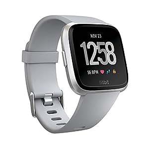 Fitbit Versa Akıllı Saat, Gri/Gümüş