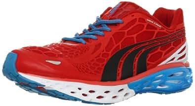 PUMA Men's BioWeb Elite Running Shoe Running Shoe,Flame Scarlet/Black/White,9.5 D US