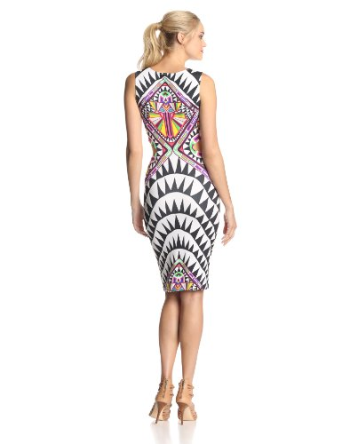 Mara Hoffman Women's Ponte Side Cut-Out Fitted Dress