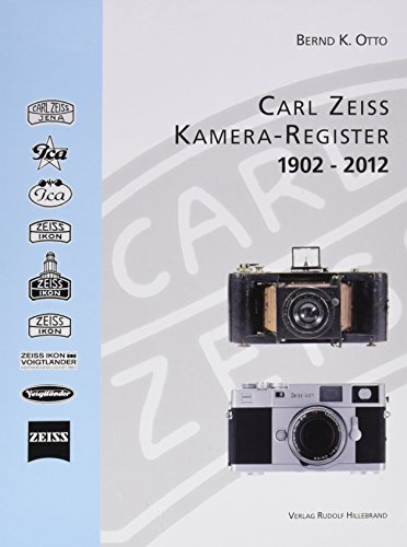 Price comparison product image Carl Zeiss Kamera Register 1902 - 2012