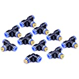HOMENOTE 10 Pack Brass Misting Nozzles for Outdoor Cooling System